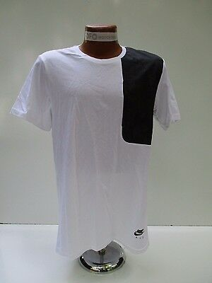 bf296c02ed Nike Air Men s Hybrid Tee (White   Black) Sz M 727361-100 NEW