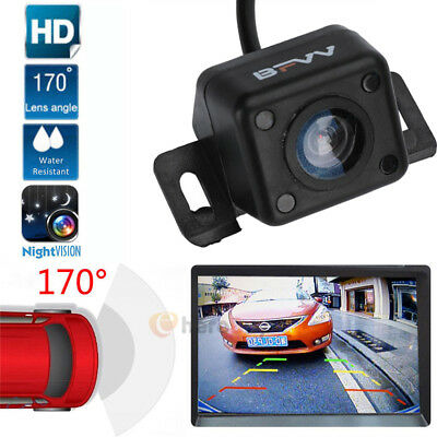 Waterproof CMOS 7 LED Car Rear View Reverse Backup Parking Camera Night Vision