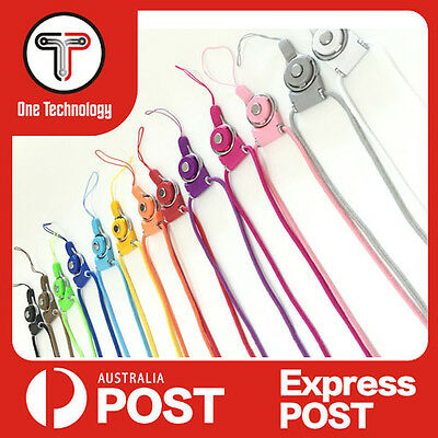Detachable Lanyard Neck Strap for ID Pass Card Badge Mobile Phone Camera Holder