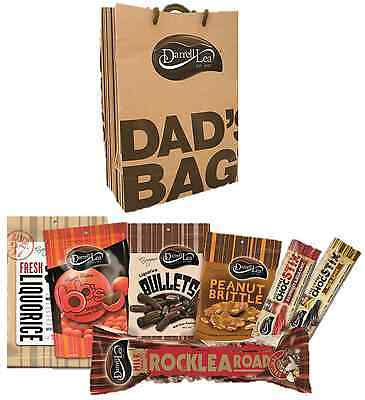 Darrell Lea DAD'S BAG CHOCOLATE FATHER DAY GIFT 7 PACK