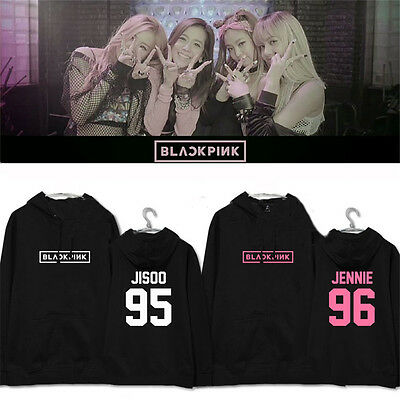 Kpop Blackpink Cap Hoodie [ SQUARE ONE ] Sweater Sweatershirt Pullover Rosé LISA