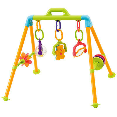 Baby Gym Spielcenter Motorikspielzeug Spielbogen Spieltrapez Activity Center Neu