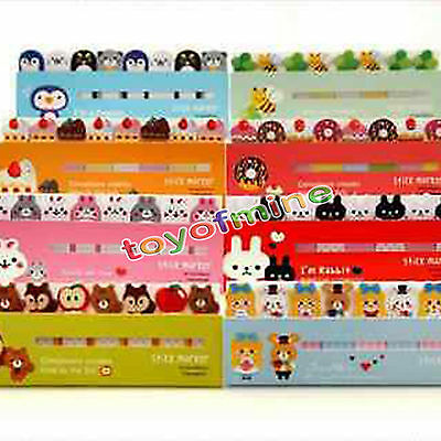 new cute Animal Sticker Post-It Bookmark Marker Memo Flag Index Tab Sticky Note