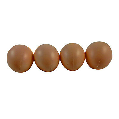 10 Fake Eggs for Hatch Chicken Duck Pigeon Small Geese Incubation Breeding