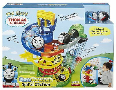 NEW Thomas And Friends My First Thomas Rail Rollers Spiral Station Characters