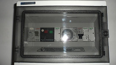 Swimming Pool Electrical Control Panel For Pool Pump Light And Heater