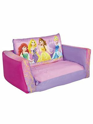 Disney Flip Out Sofa & Sofa Bed Pink Girls Inflatable 100% Official Free P+P