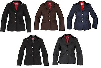 Red Horse Childs Horse Riding Show/Competition Jacket Blazer ALL SIZES & COLOURS