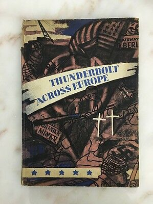 Thunderbolt Across Europe History of the 83rd Infantry Division Book w Maps