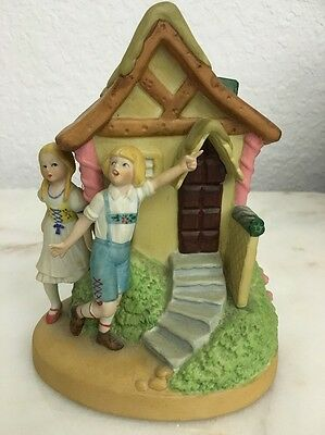 Hansel and Gretel Danbury Mint Porcelain Figurine