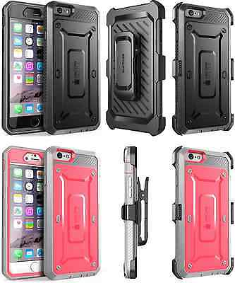 Unicorn Beetle Pro Rugged Holster Case Cover For iPhone 6 6s Samsung S6 Edge