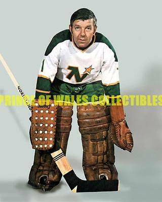 Gump Worsley Photo 8X10