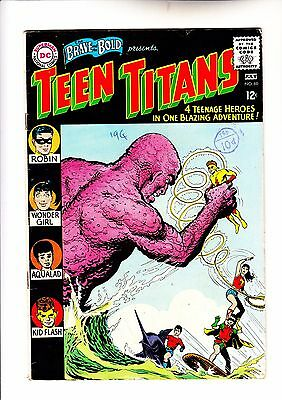 Brave and the Bold 60 Teen Titans Brian Bolland collection