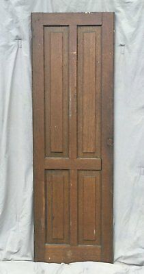 Antique Cabinet Pantry Door Oak Kitchen Vintage Chic Old 1530-16