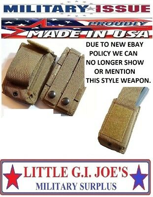 New USMC Coyote Brown USMC Marine Corps Speed Reload Magazine Mag Pouch M16/M4