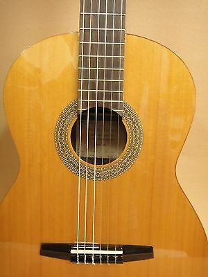 Miguel Almiera 3CSR Solid Cedar Top Classical Guitar + Deluxe Padded Bag – 2nd's