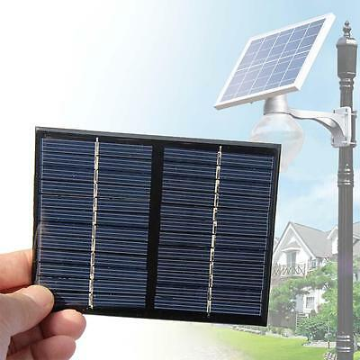 1.5W 12V Solar Panel DIY Powered Models Small Cell Module Epoxy Charger KJ