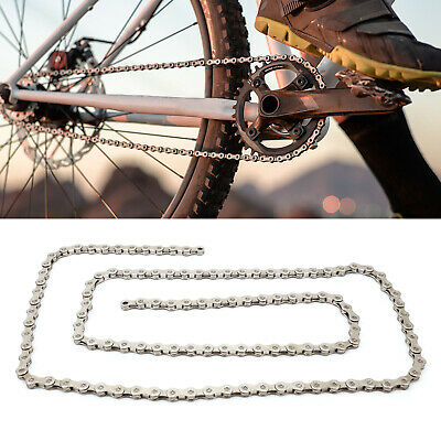 10 Speed Mountain MTB Road Bike Bicycle Chain Steel 114 Links with 2 Join Links