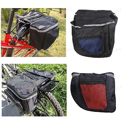 Mountain Bike Rack Bag Multifunction Road Bicycle Pannier Rear Seat Trunk Pouch