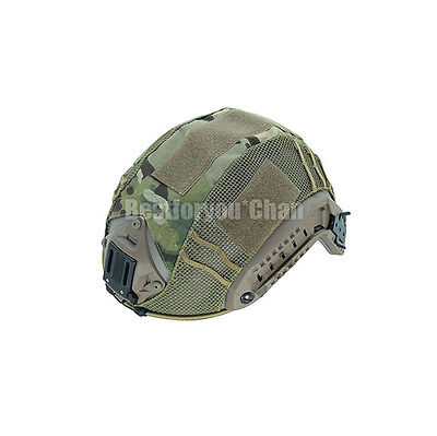 Airsoft Military Amry Tactical Paintball Maritime Helmet Cover Multicam MC