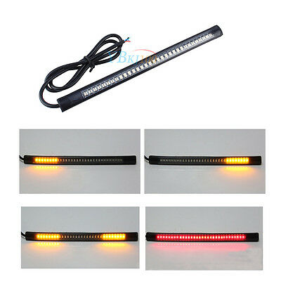 Universel Flexible 48 SMD Motorcycle Turn Signal Clignotant Bande Lumière LED