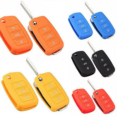 Car Accessories Silicone Car Key Holder Case Cover for Volkswagen VW Beauteous