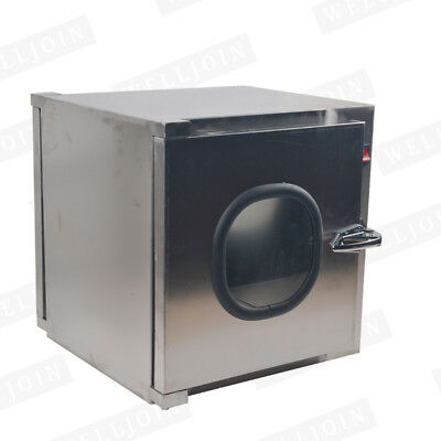 Stainless Steel Cleanroom Tech Pass Through Cleanroom Equipment 220V