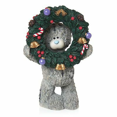 Me to You Holly Days Are Coming Figurine Christmas Wreath Tatty Teddy