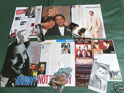 Andy Garcia  - Film Star - (  Clippings /cuttings Pack )