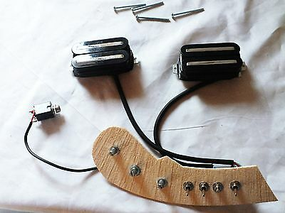 Mastex Cable Connection With Magnetic Hambucker For String Instrument Saz !!!!!!