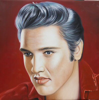 Oil Painting 100% Hand Made Elvis Presley Canvas