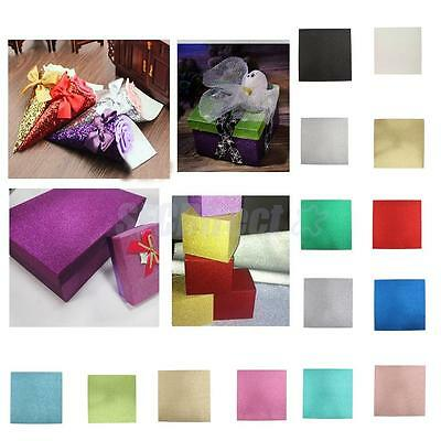Sparkle Glitter Cardstock Sheets Card Paper Wedding Party Decorations DIY Crafts