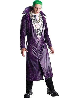 Adult Mens Licensed The Joker Costume Deluxe Suicide Squad Fancy Dress Outfit