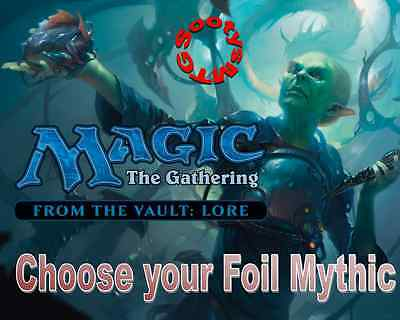 MTG From the Vault Lore - Choose your FOIL Mythic - New - Free 1st Class Post