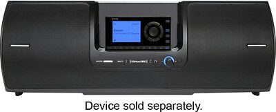SiriusXM - SD2 Portable Speaker Dock - Black