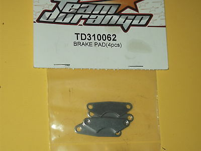 ** NEW, TEAM DURANGO TD310062 BRAKE PADS (4 pcs) **