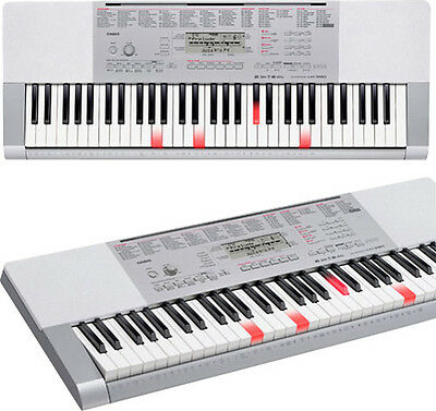 Casio - Portable Keyboard with 61 Full-Size Touch-Sensitive Lighted Piano-Sty...