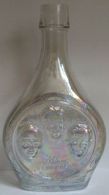 APOLLO 16 Glass Wheaton Bottle NASA Space