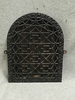 Antique Cast Iron Arch Top Decorative Dome Heat Grate Wall Register 9x12 1570-16