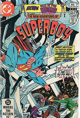 The New Adventures Of Superboy # 33 / V.good+ / Dial H For Hero.