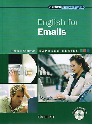 Oxford Business English Express Series ENGLISH FOR EMAILS E-Mails w MultiROM NEW