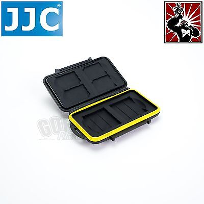 JJC Memory Card Hard Storage Case Holder Wallet for 4 x SD SDHC 2 x CF cards
