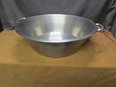 "Large Stainless Steel 19"" Caso Cazo para Carnitas  Heavy Duty Stove Pot USED"