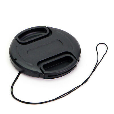Camera Lens Cap Cover Snap-On Centre Pinch 46/49/52/55/58/62/67/72/77/82mm