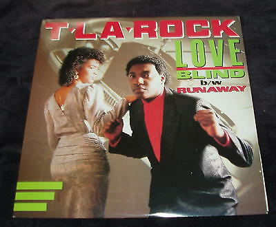 T L a Rock - Love blind / Runaway  US 12""