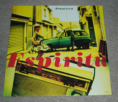 Espiritu - Francisca   UK 12""