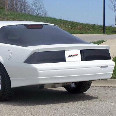 82-92 Chevrolet Camaro RS Z28 GTS Smoke Acrylic Taillight Covers Pair NEW GT030