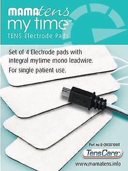 MamaTens MyTime Replacement Electrode Pads V1 (Original metal connector)