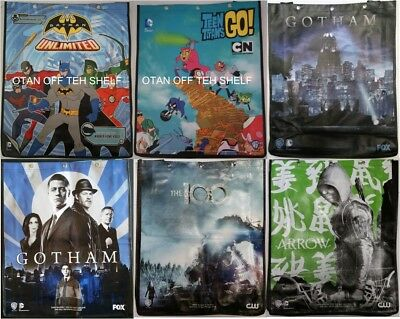 SDCC Comic Con 2015 Swag Bag GOTHAM HEROES, ARROW, THE 100, VAMPIRE DIARIES