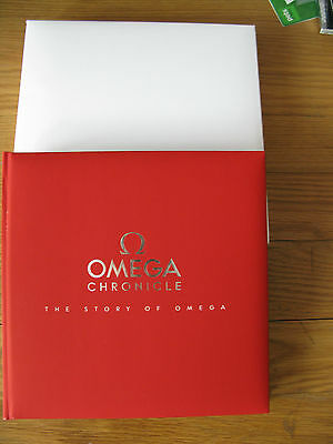 Omega Chronicle - The Story of Omega - Collectors Item - Brand New & Boxed